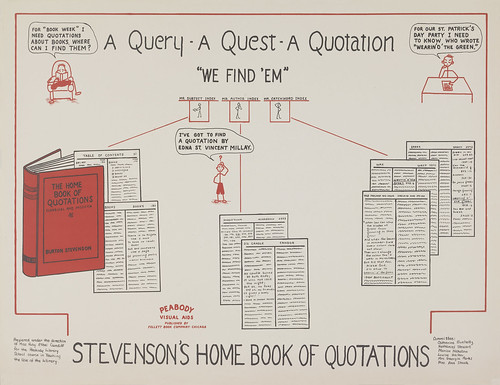 A Query A Quest A Quotation