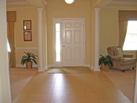 Open Foyer to dining room and living room. Madison Home ...