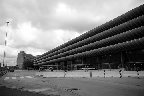Preston Bus Station, view from Tithe Barn Street