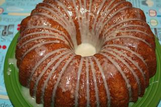 Apple Bundt Cake with Vanilla Brown Butter Glaze
