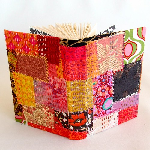 book 913 with hand-embroidered kantha quilting