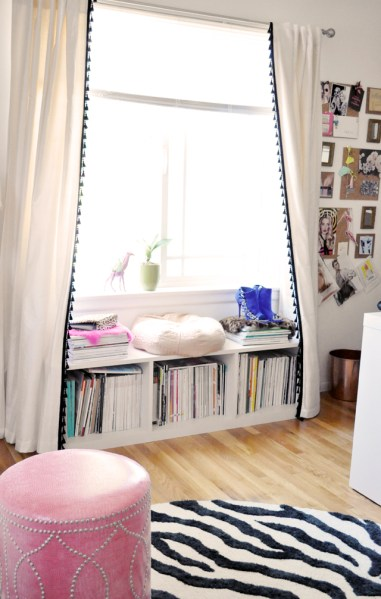 home office window bench My {OLD} Home Office & Dressing Room | love Maegan