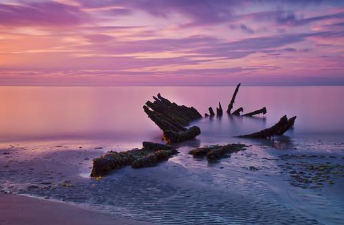 Longniddry Sunset - Explored