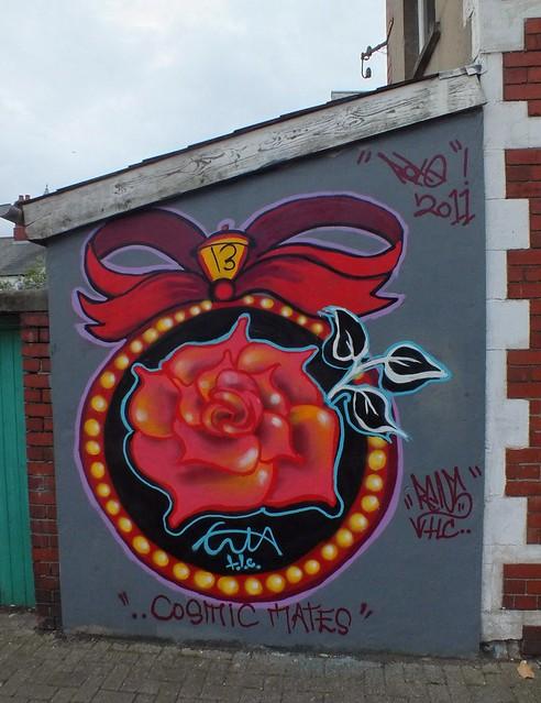Enta grafitti, Canton, Cardiff