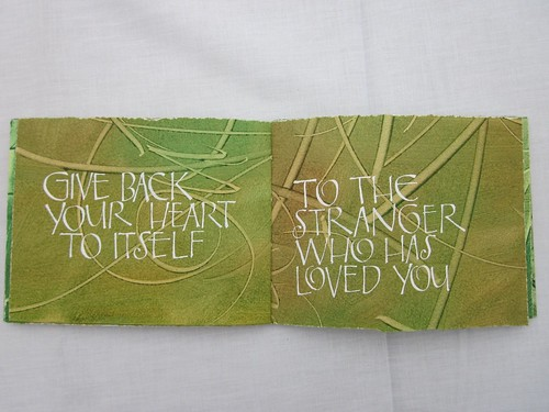 Love After Love-A Paste Paper Book