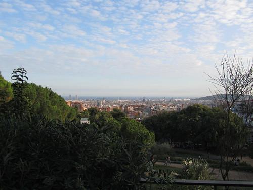 Panorámica desde el Parc Güell by debolsillo