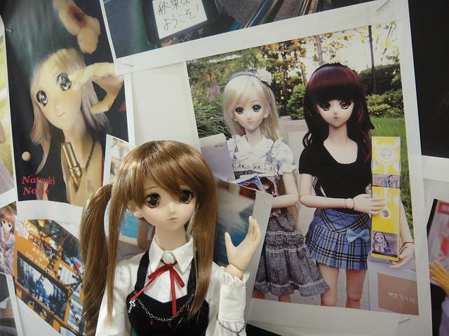 Yukino's sisters at Volks Akihabara Showroom