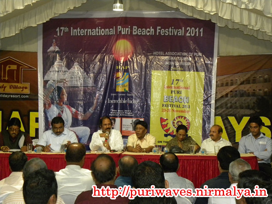 Press Conference International Puri Beach Festival