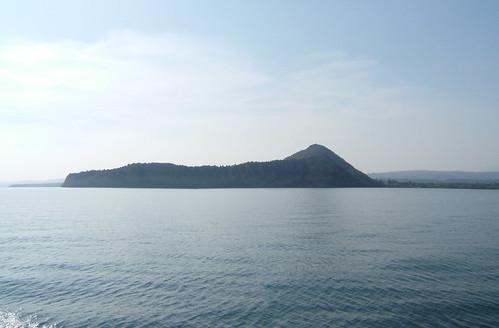 rocca di Manerba from the bresciano side
