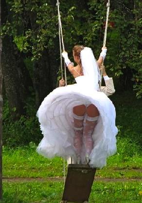 skimpiest wedding dress