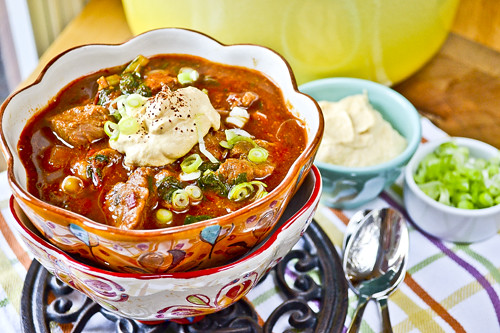Pumpkin & Pork Chili