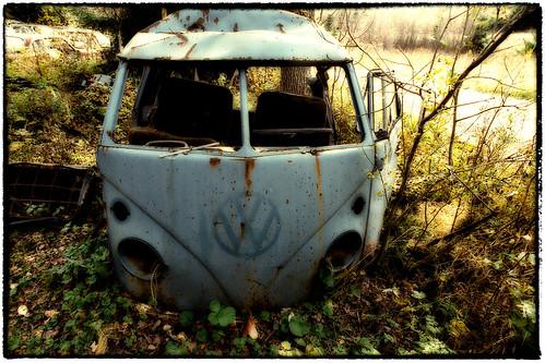 VW Sheds a Rusty Tear by Davidap2009