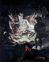 Ossian's Dream, 1813, by Ingres