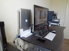 Home Workspace Setup Side View