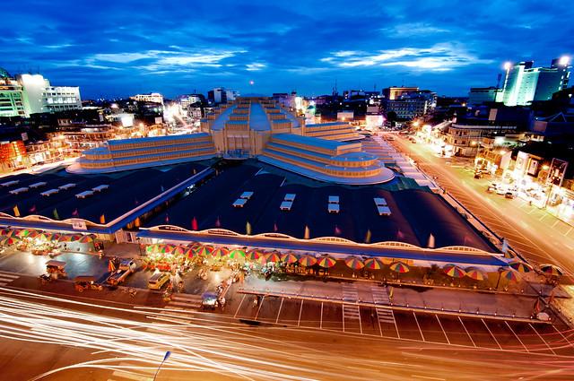 Central Market Before Dark