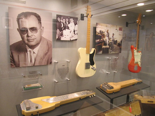 Fender Guitar Factory Leo and early models