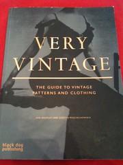 Very Vintage book