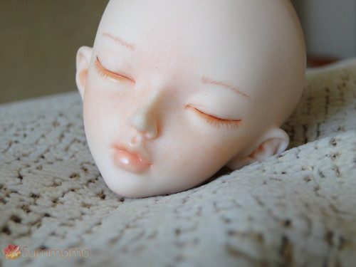 Minifee Chloe sleeping faceplate
