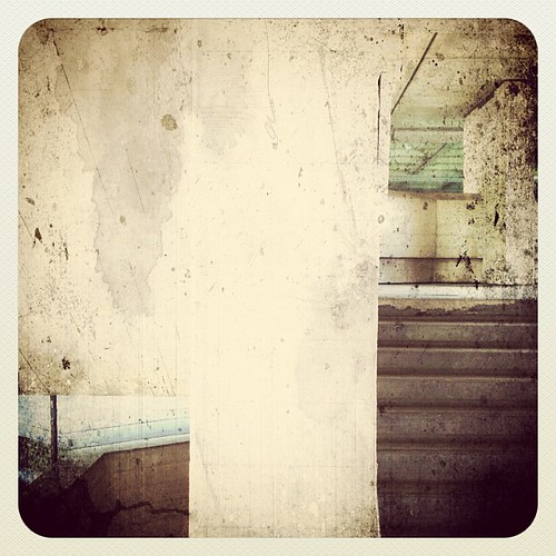 Abstract stairs by Darrin Nightingale