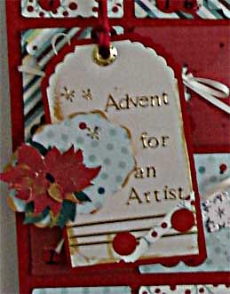 Advent Calendar for an Artist Tag
