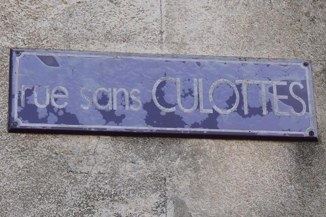 Rue sans Culottes