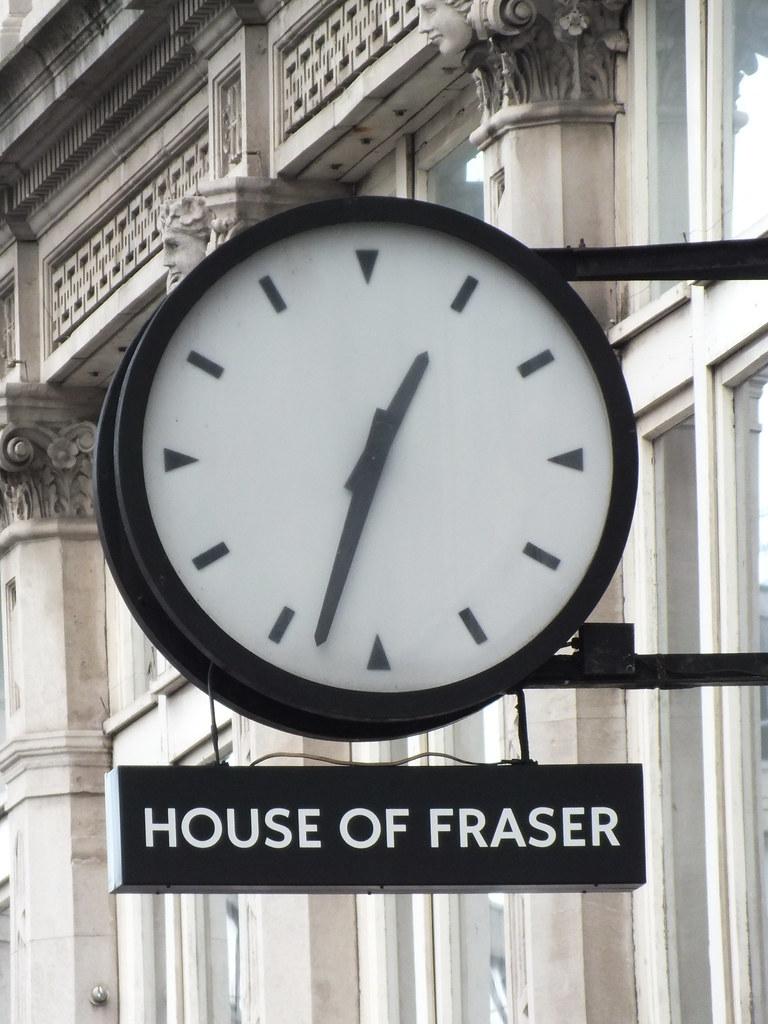 Howells Clock on St Mary Street
