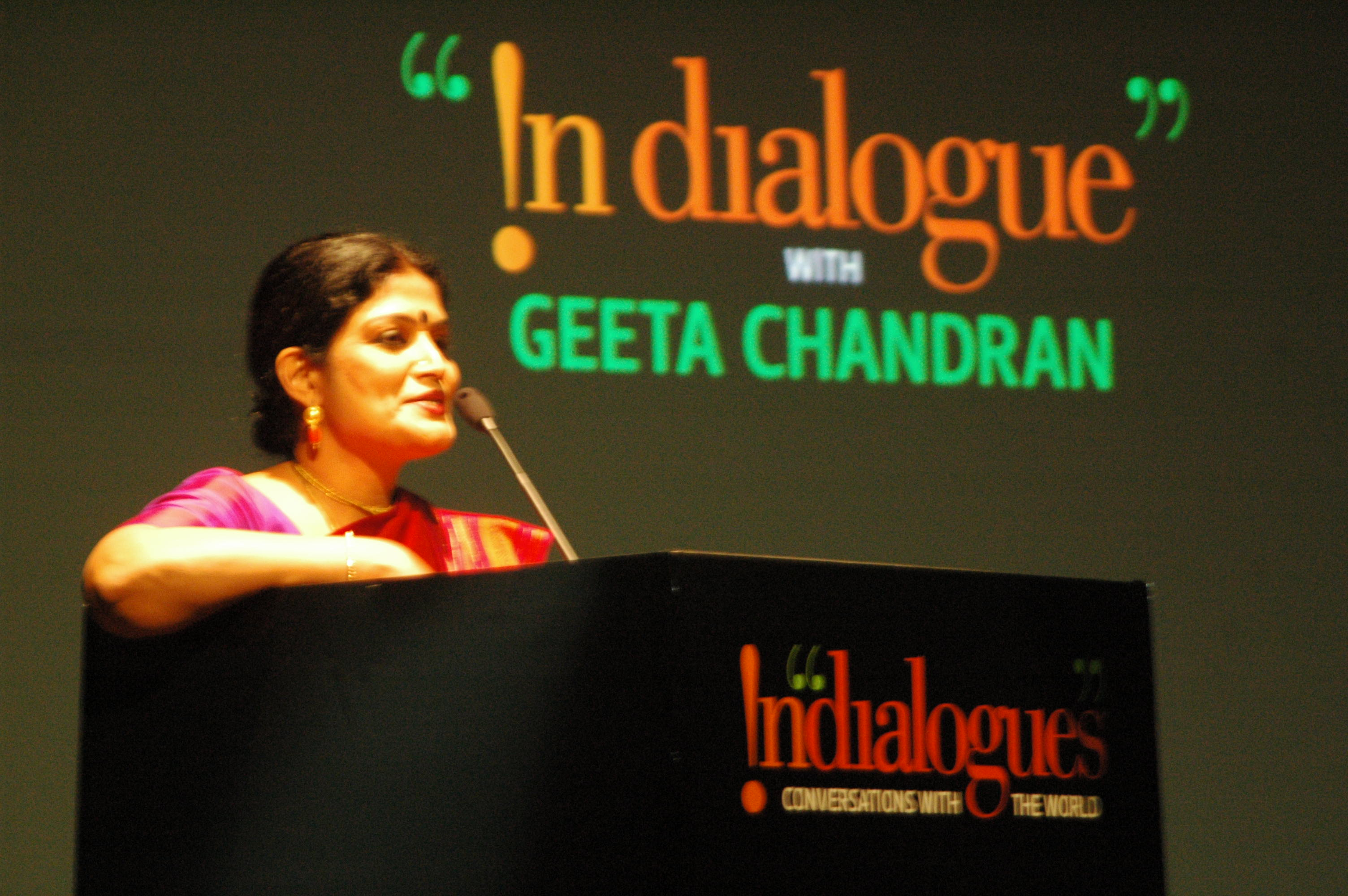 Padmashree Geeta Chandran, danseuse par excellence
