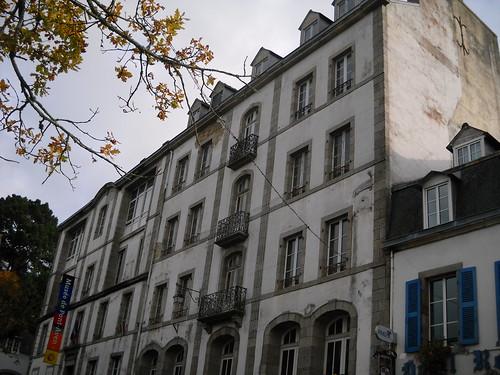 hôtel de vlle de Pont-Aven façade du futur musée