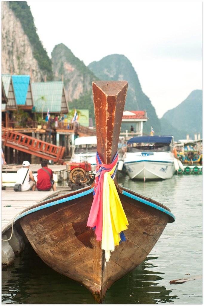 Day 311.365 - Long tailed boat at Phuket
