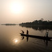 Sunset on the Congo River