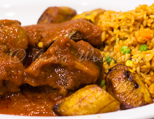 Oxtails, Fish, Rice, Plantains