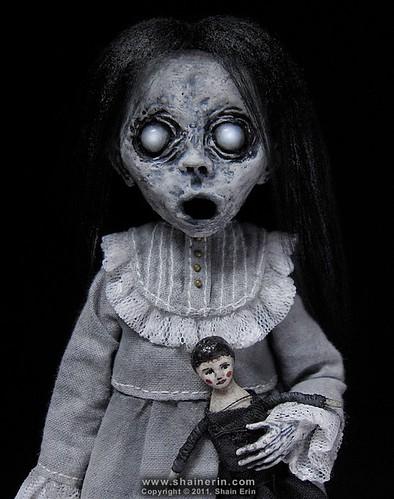 Christina - Ghost Art Doll Figurine