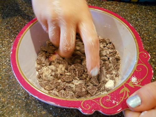 dredging chocolate