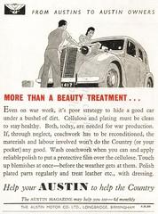 1943 - British advertisements.