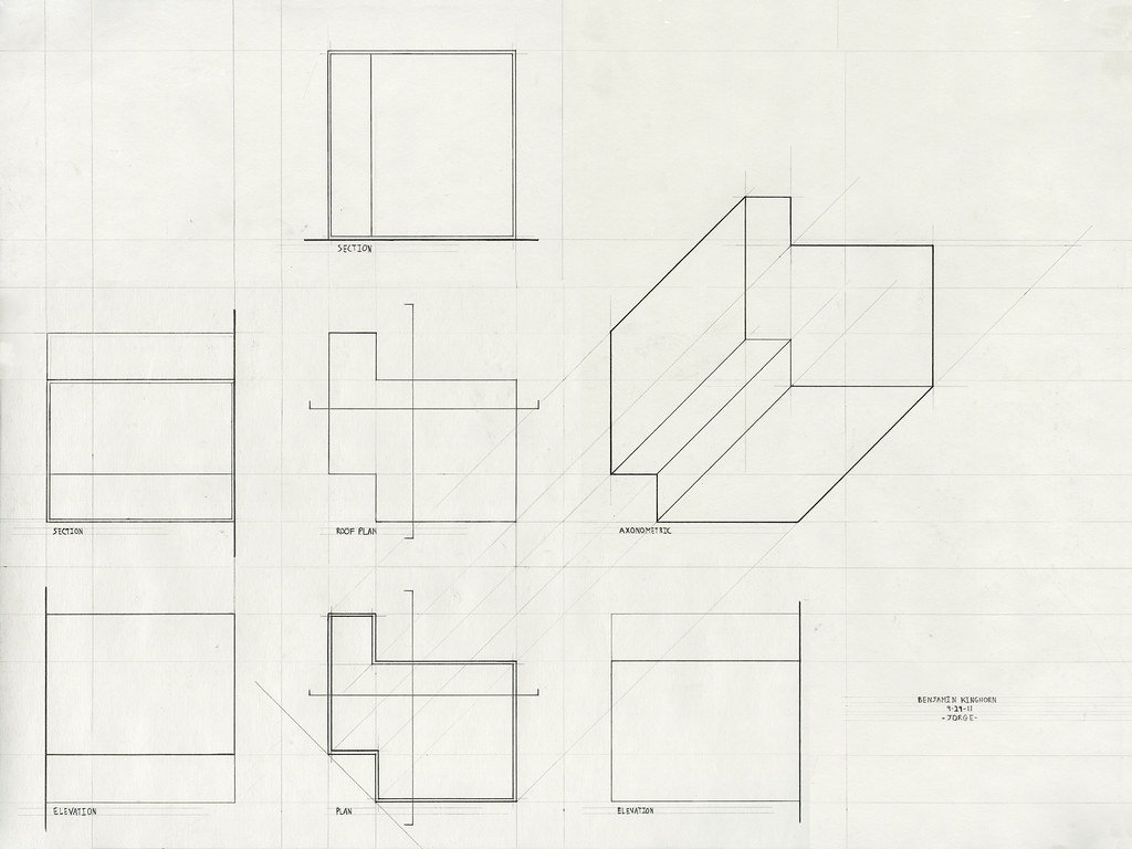 Orthographic Drawing Architecture