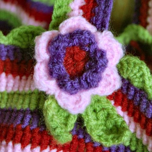 studio paars crochet bag lucy attic24 haken gehaakte tas gehaakt