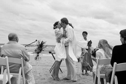 Wedding Ceremony - The Kiss