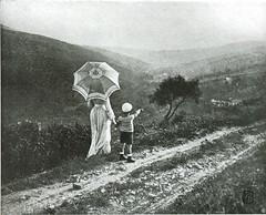 Der Spaziergang, 1907, by Dr. Feri Angerer