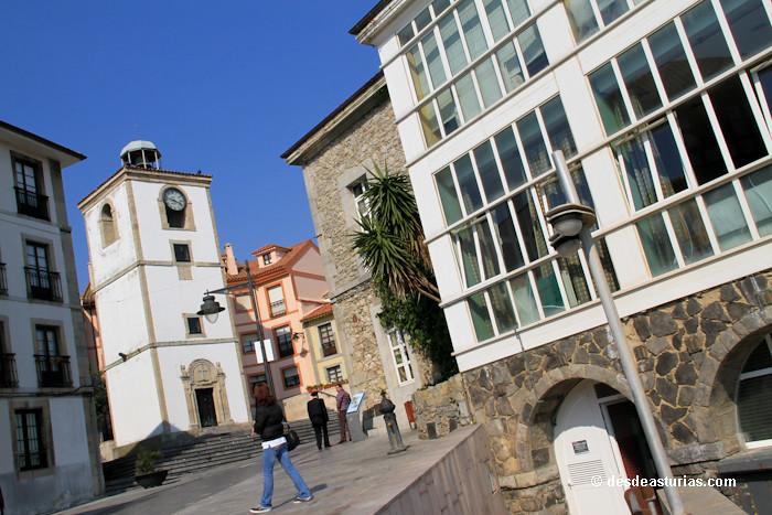 Luanco la villa marinera de Asturias Mapa Luanco Qu