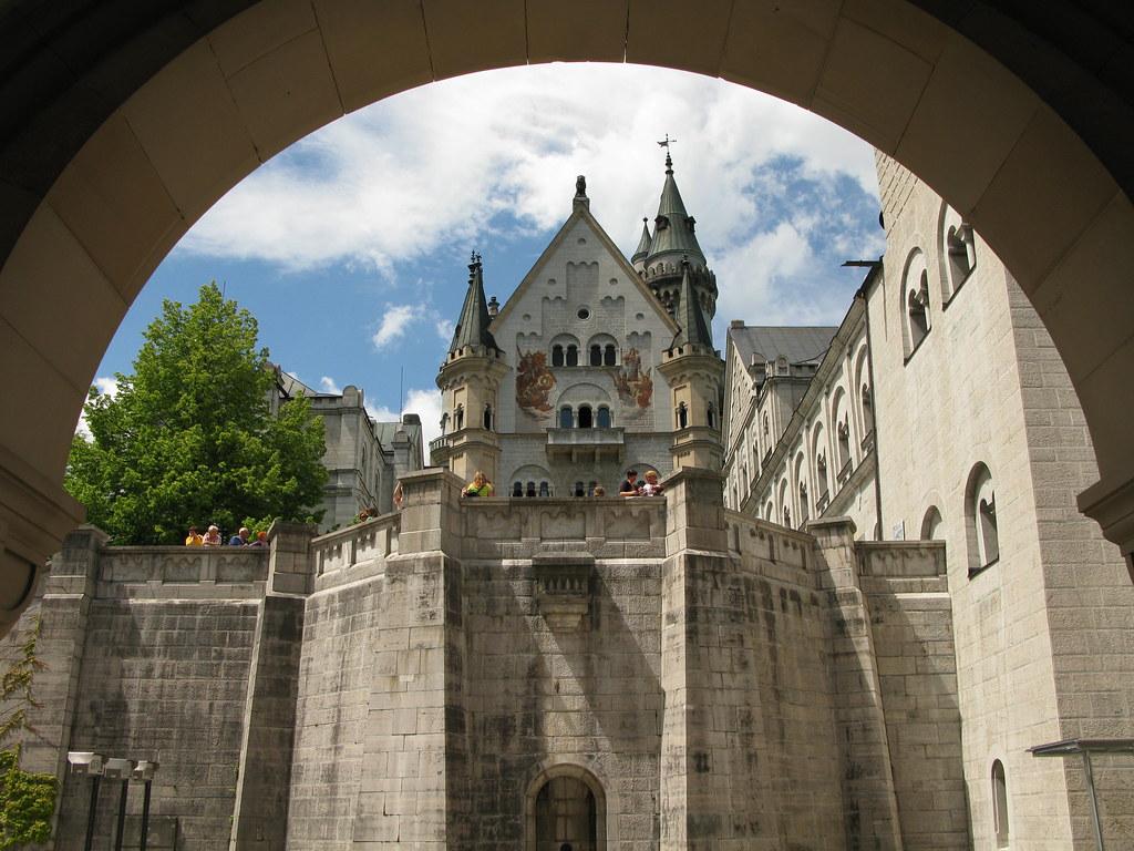 Fairy Tale Castle Neuschwanstein in Bavaria