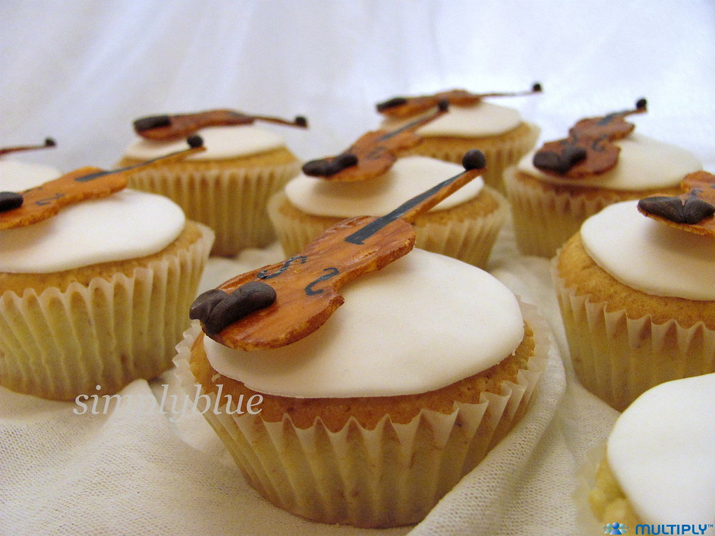 мъфини - виоли