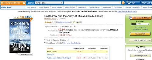 Scarecrow on Amazon