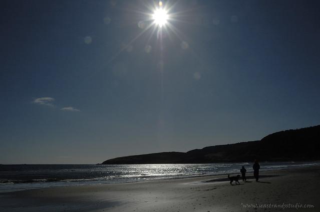 Sun dogging