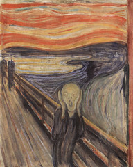 Edvard Munch's, The Scream, 1893 version