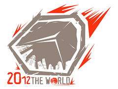 2012 the world logo