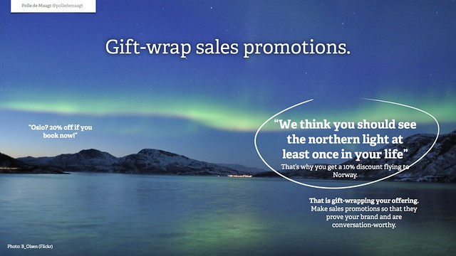 Gift-wrap sales promotions