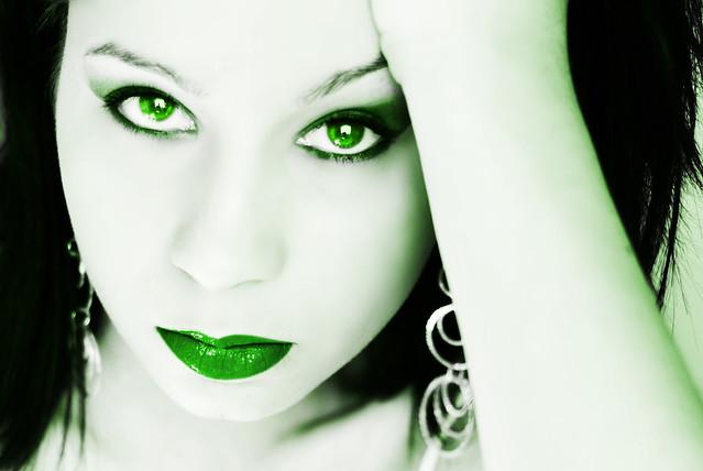 62. The green glow