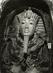 Innermost Coffin of Tutankhamun, 1926, by Harry Burton