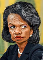 Condoleezza Rice - Caricature