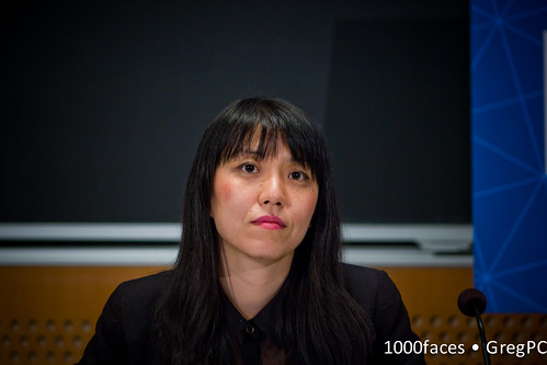 Face - Xiaochang Li (@xiaochang) speaking at #FoE5